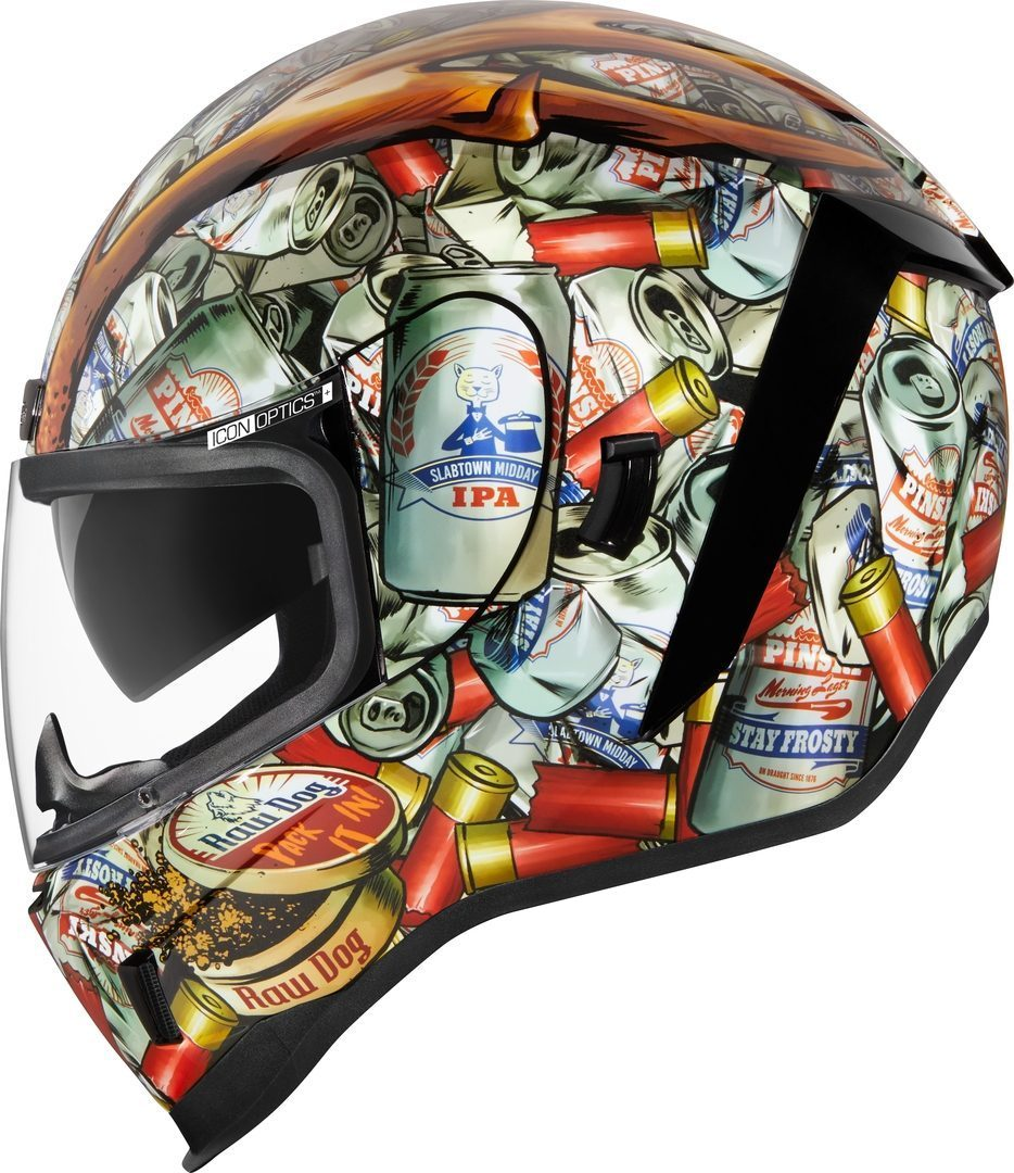 Icon Airform Buck Fever Helm, mehrfarbig, Größe L, mehrfarbig, Größe L