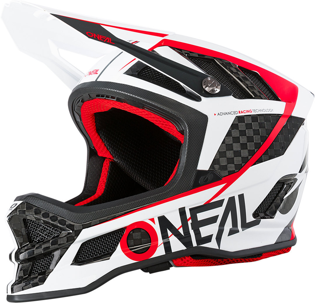 Oneal Blade Carbon IPX GM Downhill Helm, weiss-carbon, Größe M, weiss-carbon, Größe M