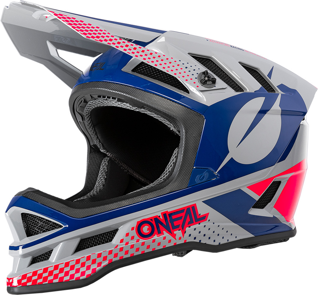 Oneal Blade Polyacrylite ACE Downhill Helm, rot-blau, Größe M, rot-blau, Größe M