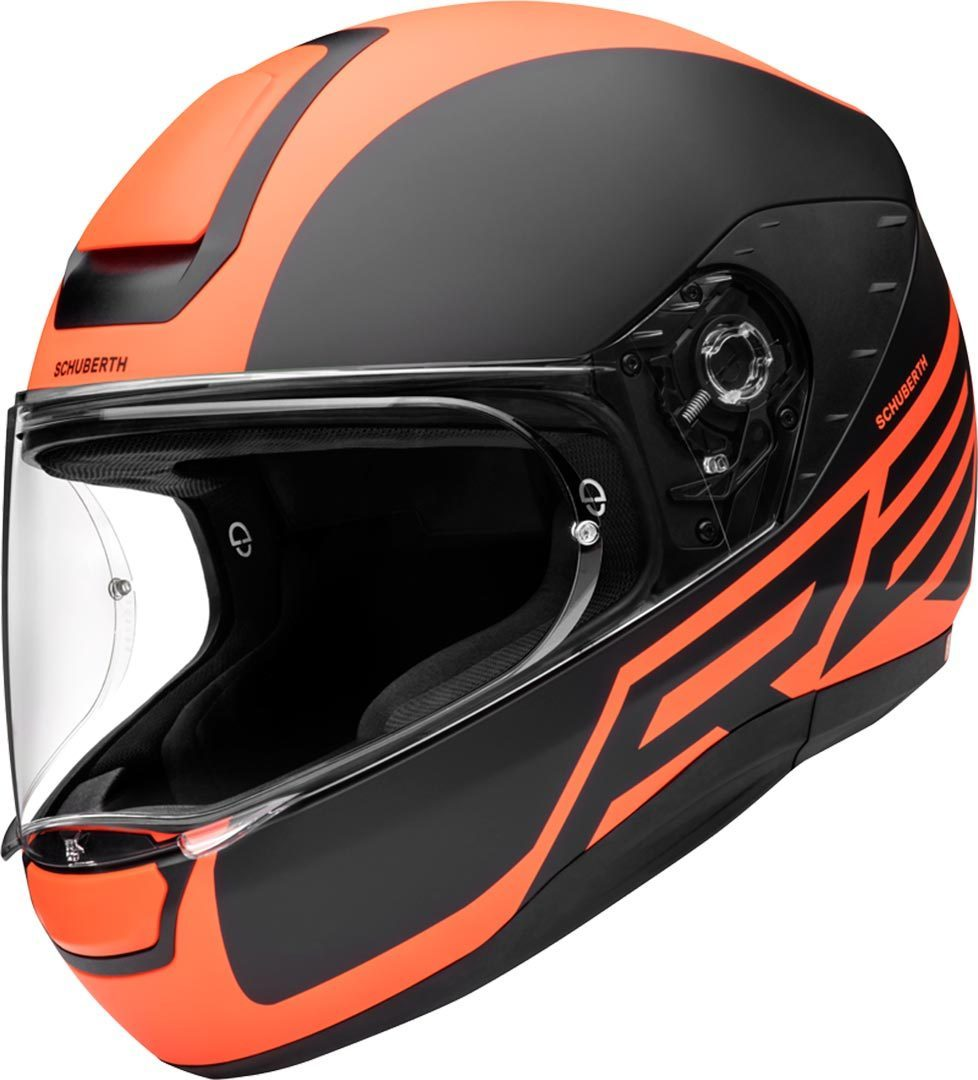 Schuberth R2 Traction Helm, orange, Größe S, orange, Größe S